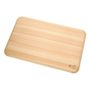 Daiwa industry tree and hand dishwasher-adaptive hinoki thin cutting board 39cm