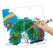 Chase it smoothly, and even several times of persimmons get wet! Drawing for colouring starving green caterpillar
