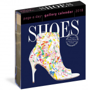 Shoes Gallery Calendar 2018 [6.25 x 7.25]