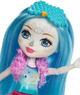Enchantimals FCG78 Sleepover Night Owl Doll