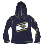 NFL Youth Girls Super Hood Long Sleeve Shirt, Multiple Teams