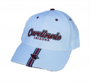 Arizona Cardinals Adjustable White & Maroon OSFA Hat Cap