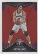 Kevin Love #/199 (Basketball Card) 2016-17 Panini Totally Certified - [Base] - Red #45