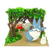 "My Neighbour Totoro minityuato kit mini ""secret tunnel"" (MP07-47)/miniature/ paper craft/Studio Ghibli"