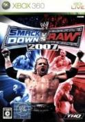 WWE2007 SmackDown vs. Raw /Xbox360 afb
