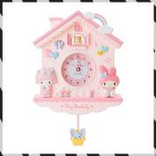 Sanrio Mai melody decorative pendulum clock [pink] / 400700