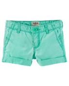 OshKosh B'gosh Little Girls' Pull-On Twill Shorts, 4-Toddler