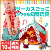 TYLL86512 [the child of the circus woman recommends the boy to the Belgian cognitive education toy baby gift gift that easy play is possible, too]