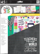 Create 365 The Happy Planner Back to School Teacher Accessory Pack Teachers Change the World