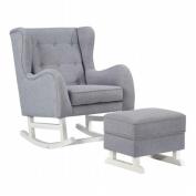 Fine Mod Imports FMI10263-grey Baby Lounge Chair, Grey - 43 x 90cm x 80cm .