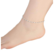 Sterling Silver Beautiful Anklet Ornaments Decor For Woman-A15