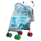 Rain Cover for Stroller, Outgeek Weather Shield Universal Baby Stroller Rain Cover Transparent Waterproof Stroller Protector