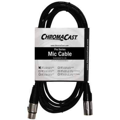 ChromaCast Pro Series Mic Cable 3m, Black, XLR/XLR Ends