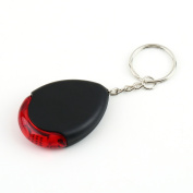 Whistle LED Light Torch Remote Sound Control Lost Key Finder Locator Remote Keychain Keychain Keyring With Whistle Claps