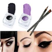 Vinjeely Menow 12 Colours Long-lasting Eye Shadow Eyeliner Lip Liner Pen Makeup Beauty