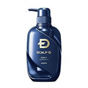 Scalp D Medical Hairgrowth Shampoo for Men 2017 (Dry Skin type) 350mL (11.83fl oz)