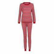 Elevin(TM)2017Christmas Women Mens Baby Family Matching Pyjamas Striped Blouse+Pants Set