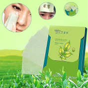 Oil Absorbing Paper Oil Absorbing Sheets - 80sheets/pack Tissue Papers Green Tea Smell Makeup Cleansing Oil Absorbing Face Paper Absorb Blotting Facial Cleanser Face Tools - Oil Blotting Sheets