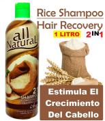 Shampoo ARROZ (Cre-C) – Estimula el Crecimiento 1000ml 1 Litro