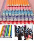 Sumanee 10Pcs Curler Makers Foam Bendy Twist Curls tool DIY Styling Hair Rollers HS55