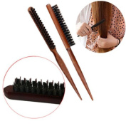 Sumanee Hair Brush Styling Comb Back Combing Teasing Brushes Pointed Tail Bristle Brush