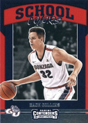 Basketball NBA 2017-18 Panini Contenders Draught Picks School Colours #11 Zach Collins