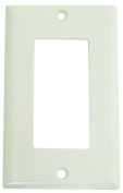 WALL PLATE STAND 1GNG WHT DECO