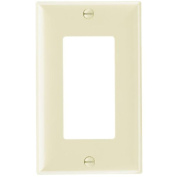 Decorative Wall Plate One Gang, Easy Installation, Ivory Pass and Seymour