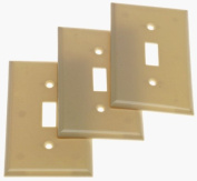 Cooper 5134V Ivory Unbreakable Single Gang Toggle Light Switch Wall Plate