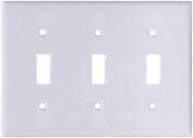 Arrow Hart 2141W-BOX Standard Wall Plate, 3 Gang, 10cm - 1.3cm L X 15cm - 1cm W X 0.2cm T, White