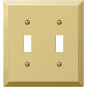 Amerelle Stamped Steel Switch Wall Plate