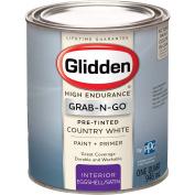 Glidden High Endurance Grab-N-Go, Interior Paint and Primer, Eggshell Finish, Country White, 0.9l