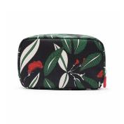 Teeya Cosmetic Makeup Bag, Handy Purse Makeup Pouch Clutch Organiser Makeup Beauty Case Travel Storage Bag for Women Black
