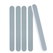 Nail File, Nail Care Kit 10Pcs Straight Nail Sanding Files Double Sided Polish Buffer Block Manicure Tools Green & White