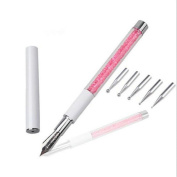Sumanee Drawing Line Nail Beauty Nail Art Design Pen Manicure Tool With 5 Dotting Head