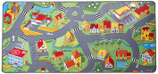 Extra Large Learning Carpets Little Village Toy, 90cm x 200cm