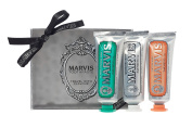 Marvis Travel with Flavour Set, Classic/Whitening/Ginger