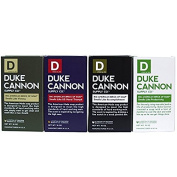 Duke Cannon Men's Bar Soap Variety Pack - Big American Brick Of Soap 300ml - Triple Milled For Highest Quality - 1 Of Each