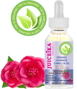 ORGANIC Japanese CAMELLIA OIL 100% PURE & REFINED- COLD PRESSED. 100% Pure Moisture for FACE, BODY, HANDS, FEET, MASSAGE, NAILS & HAIR and LIP CARE.