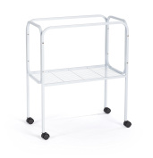 Prevue 446 Bird Cage Stand for Base Flight Cages 70cm x 36cm , Black