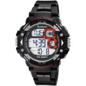 Armitron Men's Sport Black Round Watch