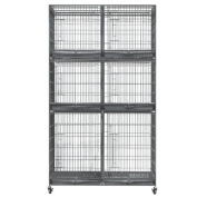 Paw Brothers Professional Tall Wire Cage Bank