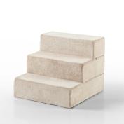 Zinus 3-Step Comfort Foam Pet Stairs / Pet Ramp / Pet Ladder