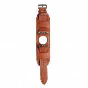 Leather Band for 38MM Apple Watch - Brown