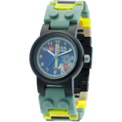 LEGO Clone Wars Yoda Kids' Minifigure Interchangeable Links Watch