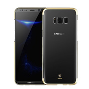 Galaxy Note 8 Case,Sunvy [Scratch Resistant] [ Shock-Absorbing ] Protective TPU Bumper Cover for Samsung Galaxy Note 8 With a Screen Protector