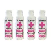 Dr Pierce Anti Bacterial Body Piercing Cleanser 120ml 4 pc Set