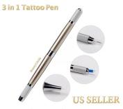 BeautyU & Me 1pc Manual Microblading Permanent Makeup Tattoo Eyebrow 3 In 1 Tattoo Pen