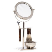 Mach3 Razor, Pure Badger Brush and Mirror with Stand