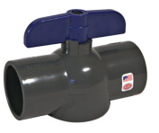 King Brothers EBVG-0500-T Threaded Ball Valve, 1.3cm Fpt